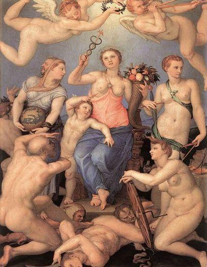 Allegorie des Glücks (Angelo Bronzino)